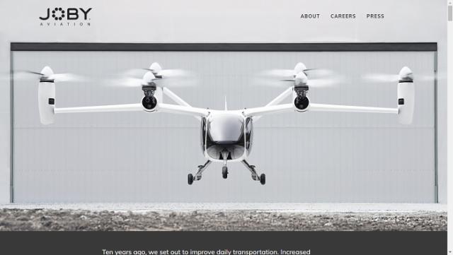 Joby Aviation Website