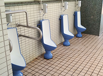 Japan Ito Tekko Cast Iron Urinals