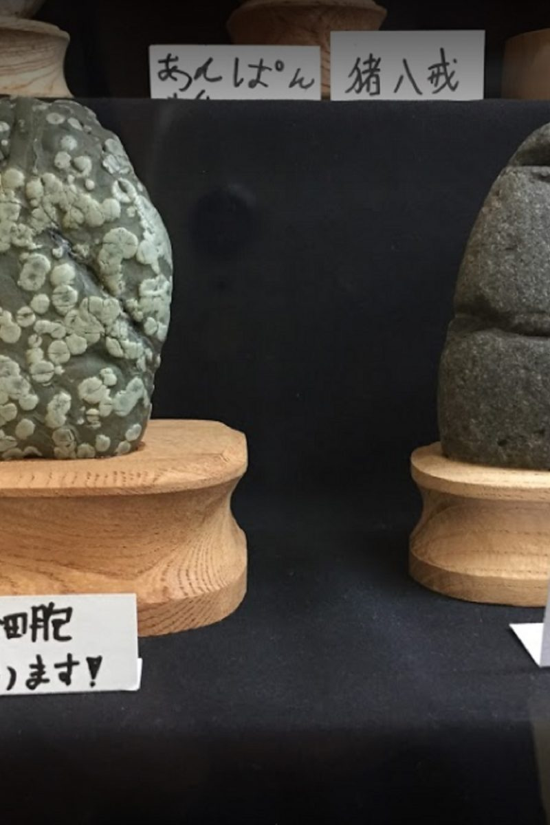 Japan Has A Museum With An Extensive Collection Of Rocks That Look Like Faces